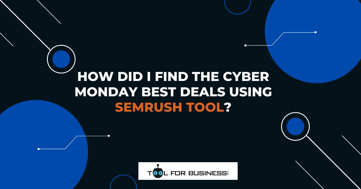 SEMrush Tool Deal