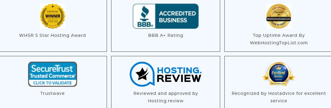 intererver hosting reviews