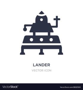 lander icon landing page