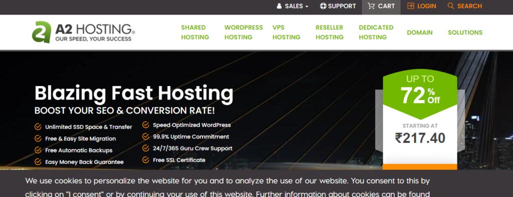 Web Hosting a2 hosting