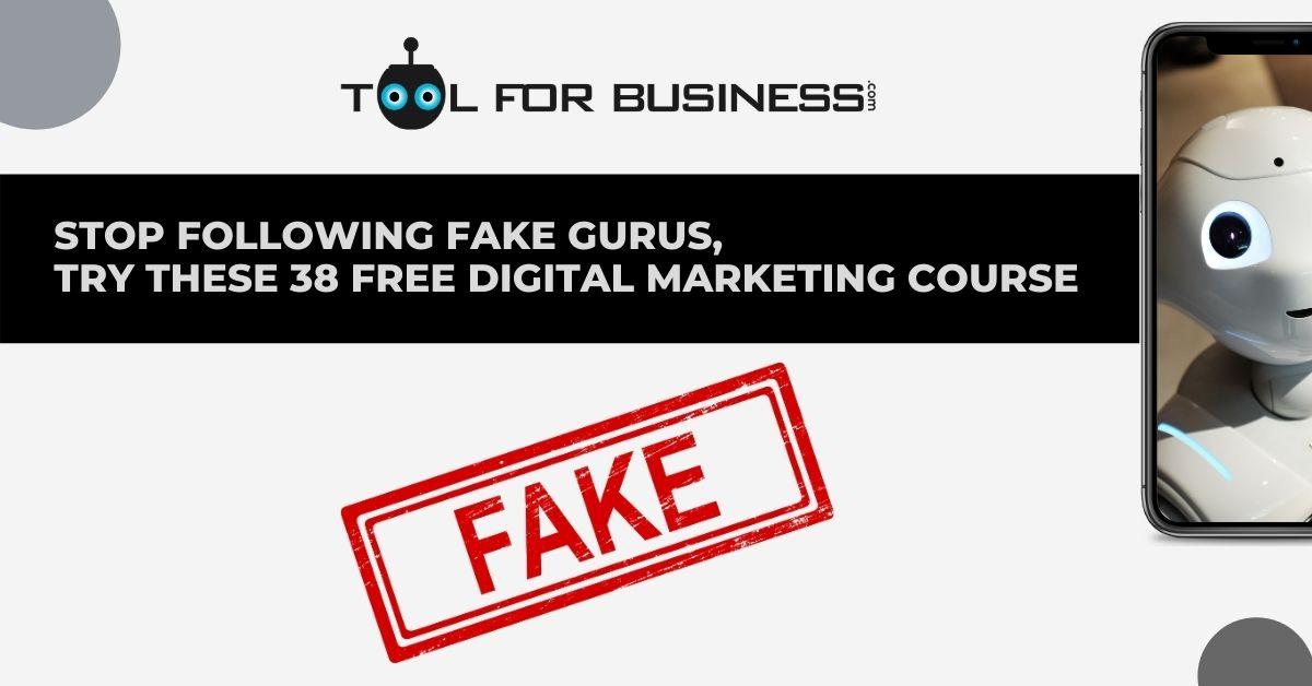 38 Free Digital Marketing Course