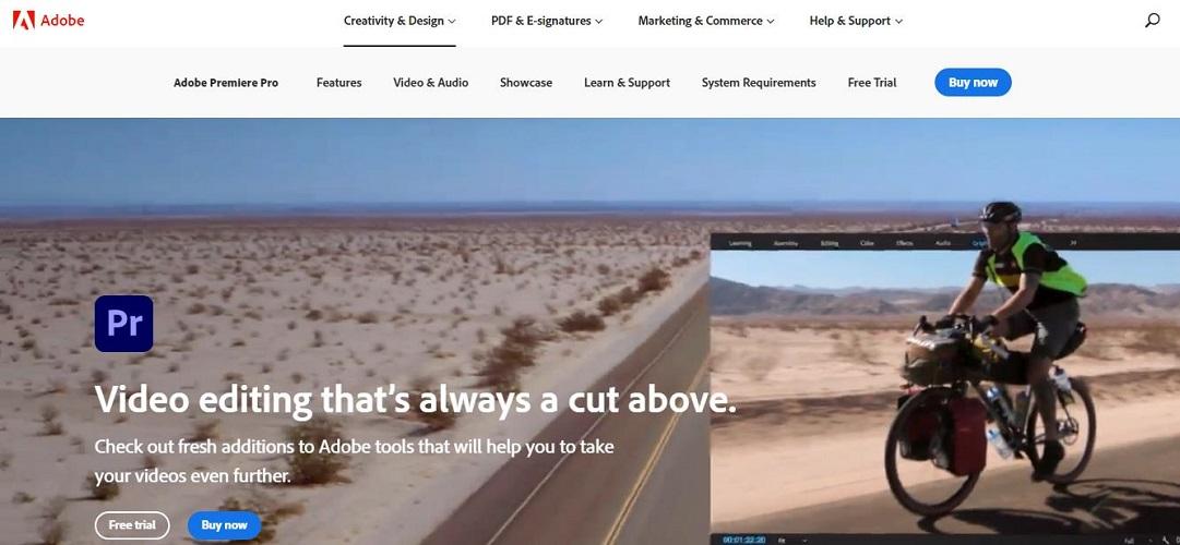 Essential Video Editing Software: Adobe Premiere Pro