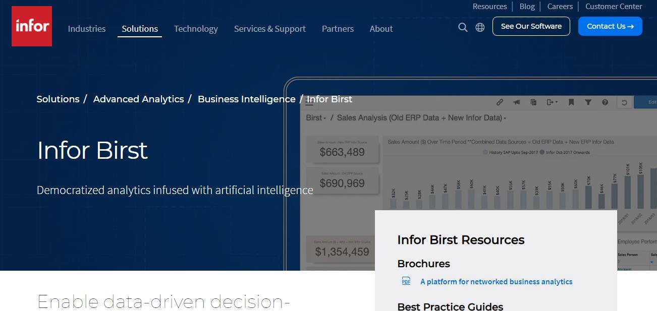 Birst- affordable BI software