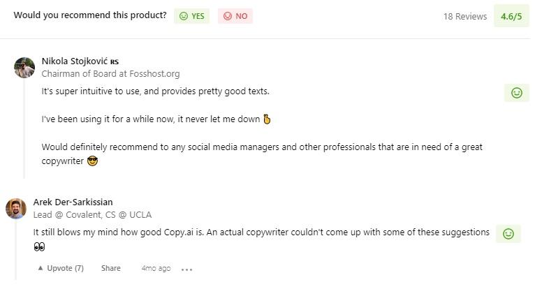 Copy ai reviews