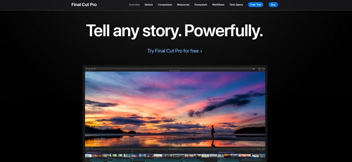 Best Video Maker: Final Cut Pro X