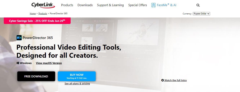 CyberLink Best Video Editing Software