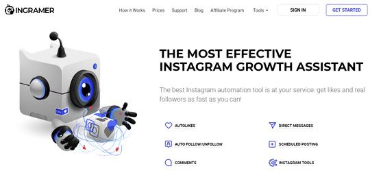 Ingramer instagram tool