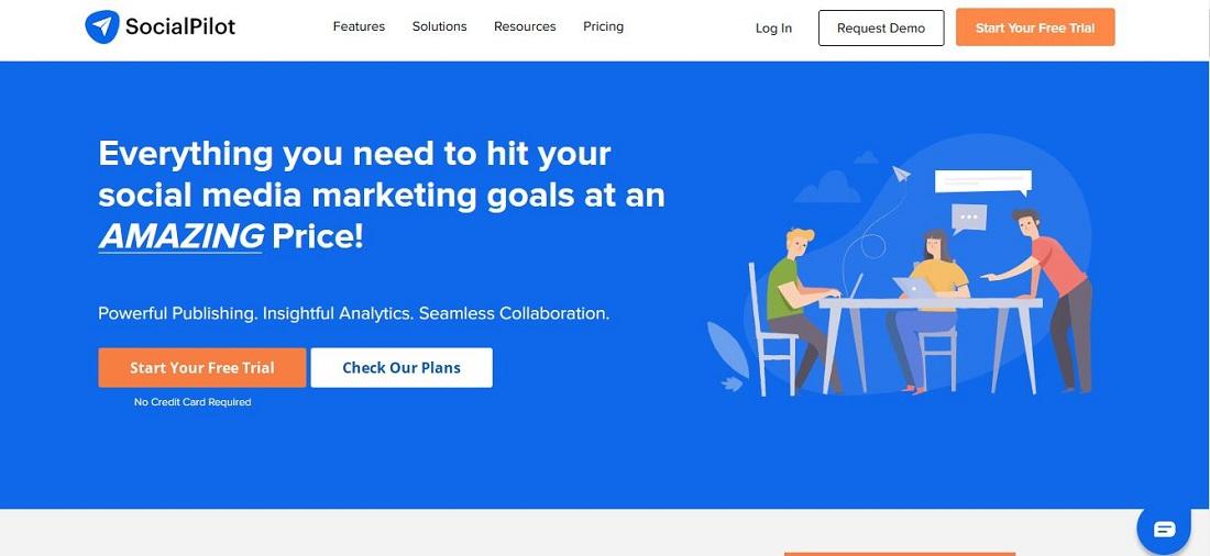 SocialPilot Social Media Marketing Software